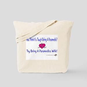 Paramedic Wife Tote Bag