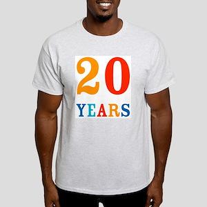 20 Years! Light T-Shirt