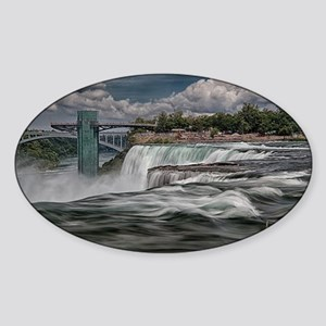 Niagara Falls 5 Sticker (Oval)