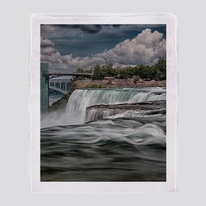 Niagara Falls 5 Throw Blanket