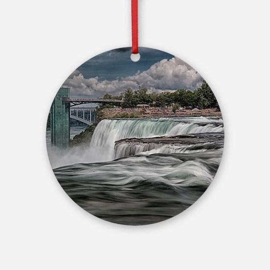 Niagara Falls 5 Ornament (Round)