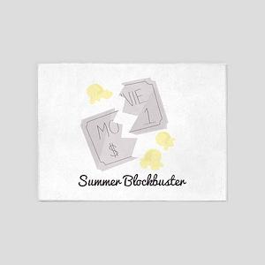 Summer Blockbuster 5'x7'Area Rug