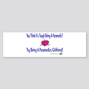 Paramedics Girlfriend Bumper Sticker