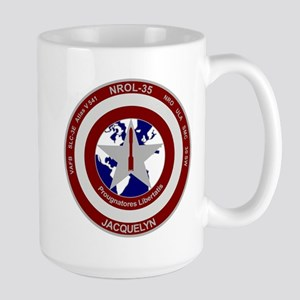 NROL-35 Launch Logo Large Mug