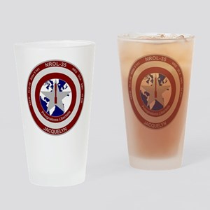 NROL-35 Launch Logo Drinking Glass
