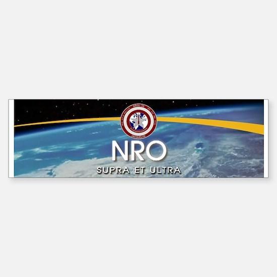 NROL-35 Launch Logo Sticker (Bumper)