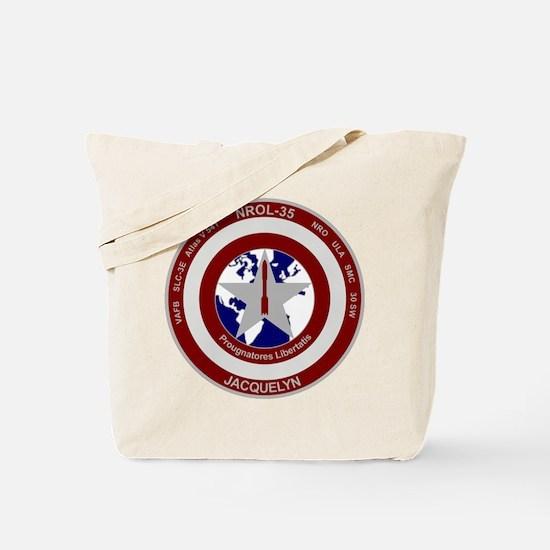 NROL-35 Launch Logo Tote Bag