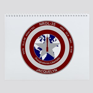 NROL-35 Launch Logo Wall Calendar