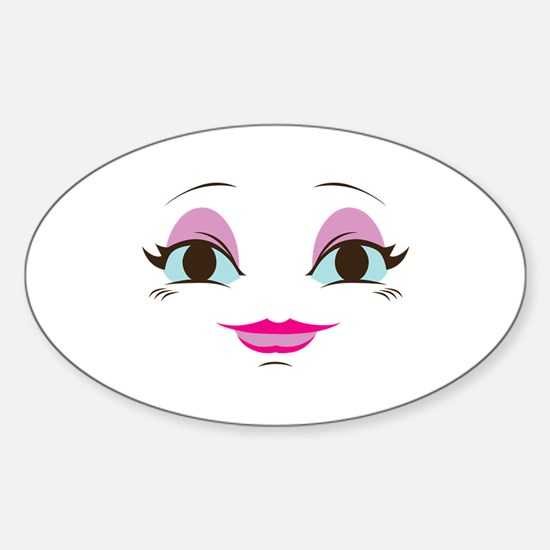 DOLL FACE 8 Decal