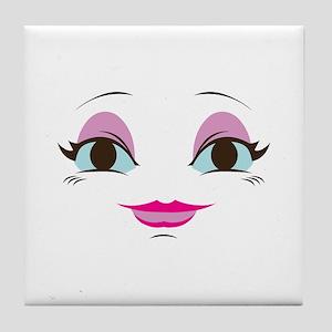 DOLL FACE 8 Tile Coaster