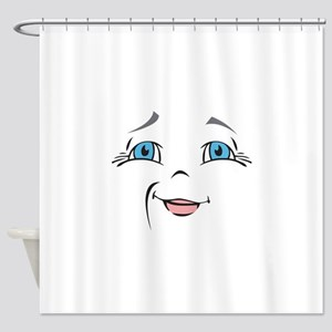 DOLL FACE 10 Shower Curtain