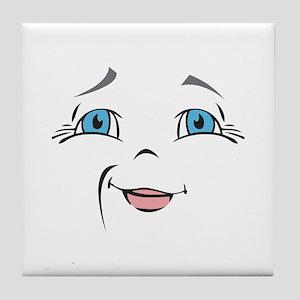 DOLL FACE 10 Tile Coaster