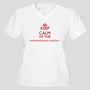 Keep calm I'm the Human Resource Plus Size T-Shirt