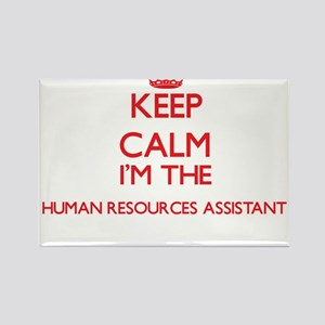 Keep calm I'm the Human Resources Assistan Magnets