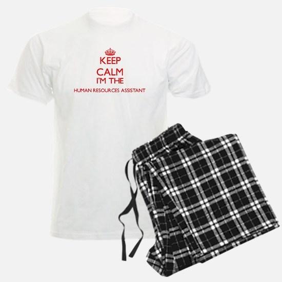 Keep calm I'm the Human Resou Pajamas