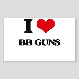 bb guns Sticker