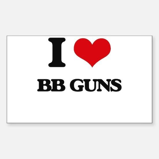 bb guns Decal