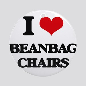 beanbag chairs Ornament (Round)