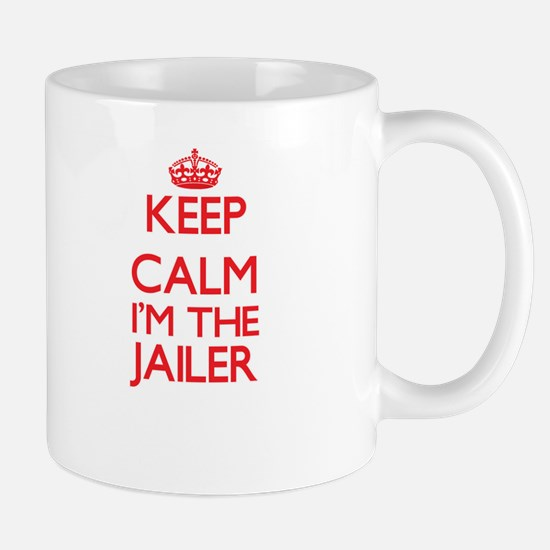Keep calm I'm the Jailer Mugs
