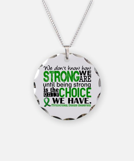 Mitochondrial Disease HowStr Necklace