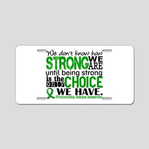 Mitochondrial Disease HowSt Aluminum License Plate
