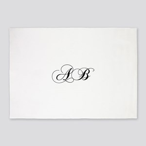 AB-cho black 5'x7'Area Rug