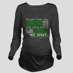 Mental Health HowStr Long Sleeve Maternity T-Shirt