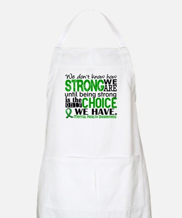Mental Health HowStrongWeAre Apron
