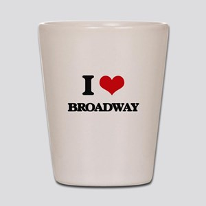 broadway Shot Glass