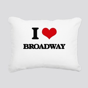 broadway Rectangular Canvas Pillow