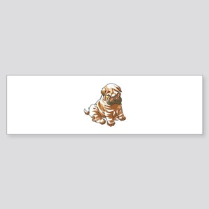 SHAR PEI PUPPY Bumper Sticker