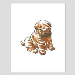 SHAR PEI PUPPY Posters