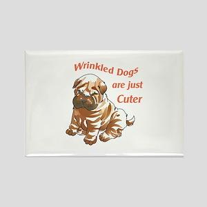 WRINKLED DOGS Magnets