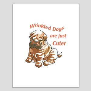WRINKLED DOGS Posters