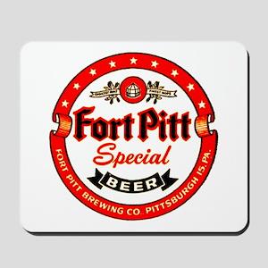 Fort Pitt Beer-1952 Mousepad