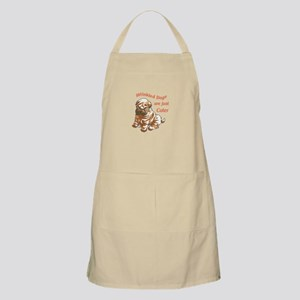 WRINKLED DOGS Apron
