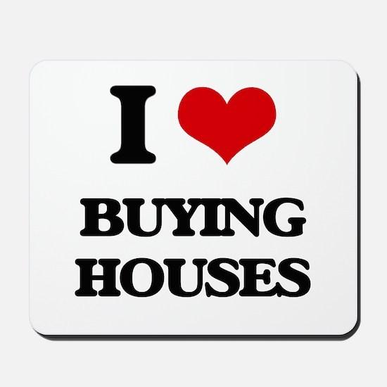 buying houses Mousepad