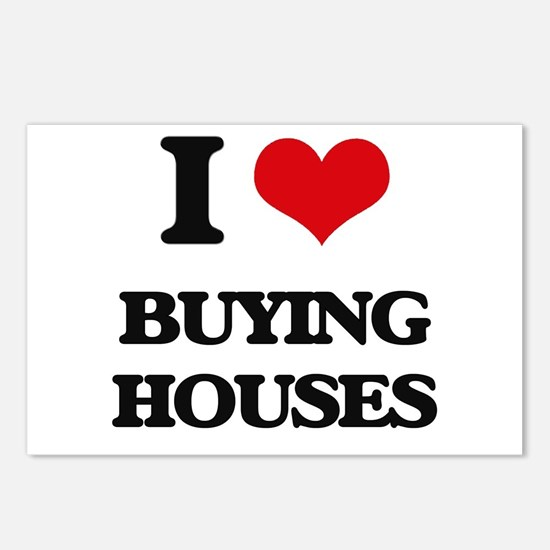 buying houses Postcards (Package of 8)