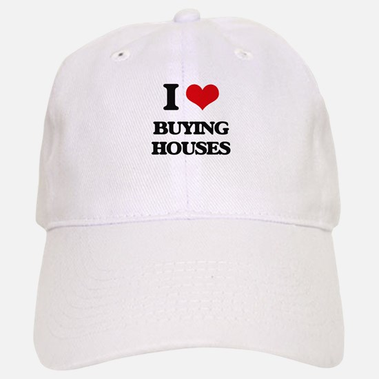 buying houses Baseball Baseball Cap