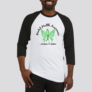 Mental Health Butterfly 6.1 Baseball Jersey