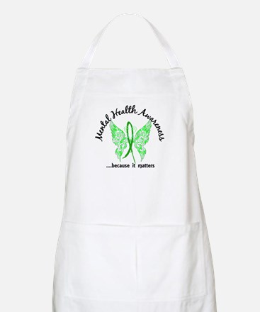 Mental Health Butterfly 6.1 Apron