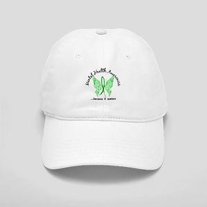 Mental Health Butterfly 6.1 Cap