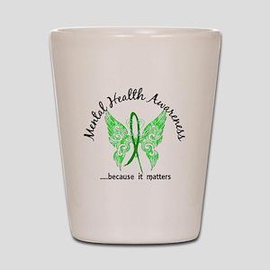 Mental Health Butterfly 6.1 Shot Glass