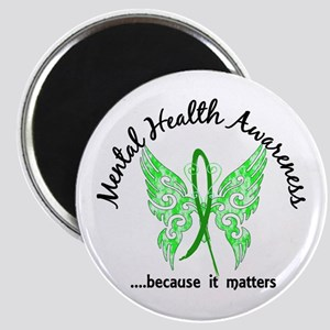 Mental Health Butterfly 6.1 Magnet
