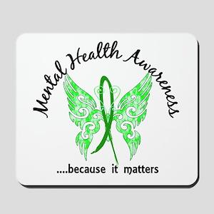 Mental Health Butterfly 6.1 Mousepad