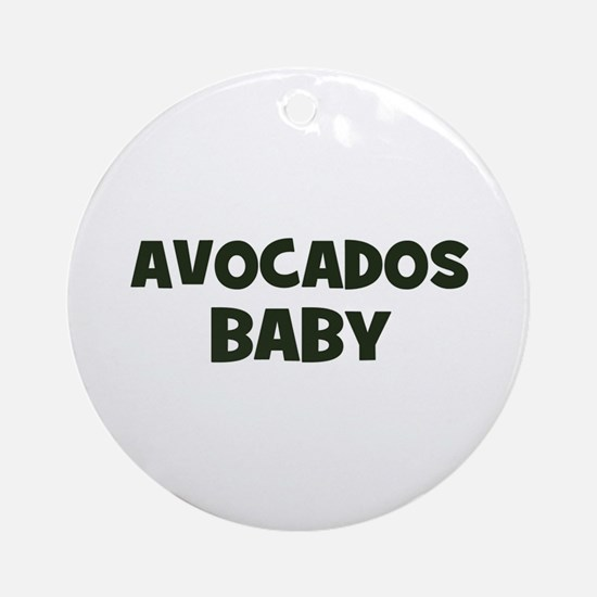 avocados baby Ornament (Round)