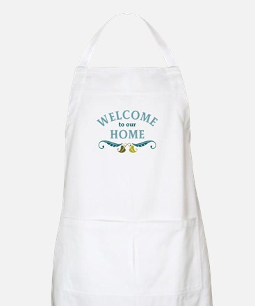 Welcome to Our Home Apron