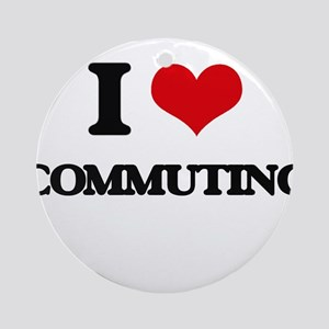 commuting Ornament (Round)