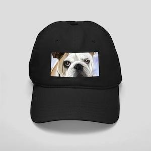 English Bulldog Black Cap