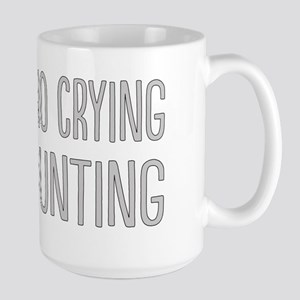 No Crying In Large Mug
